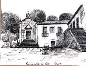 Solar e Capela da Quinta da Costa em 1941
